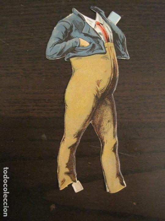 Coleccionismo Cromos troquelados antiguos: MUÑECO CON TRAJE-CHOCOLATES ...-SERIE A Nº 2-CROMO TROQUELADO-VER FOTOS-(V-19.077) - Foto 5 - 194499195