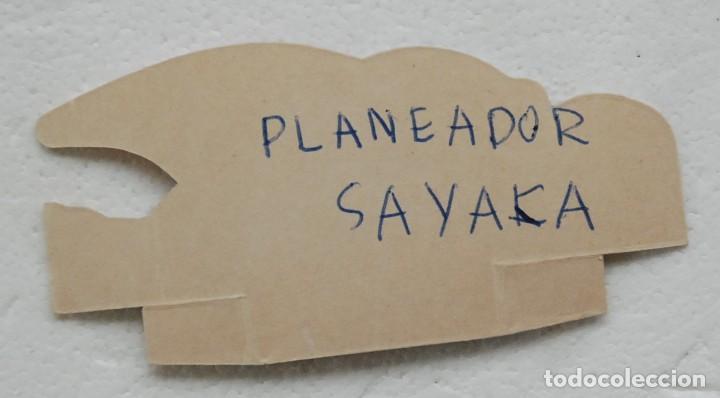 Coleccionismo Cromos troquelados antiguos: Cromo Planeador Deslizador Sayaka Sin Numerar de Mazinger Z de Panrico - Foto 2 - 194534363