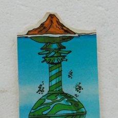 Coleccionismo Cromos troquelados antiguos: CROMO PANRICO SERIE MAZINGER Z Nº 30 FORTALEZA SUBMARINA TROQUELADO. Lote 194639068