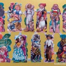 Coleccionismo Cromos troquelados antiguos: LAMINA CROMOS TROQUELADOS O PICAR EVA Nº155 BRILLO. Lote 196108918
