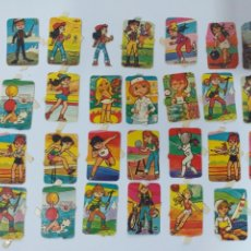 Collectionnisme Cartes à collectionner massicotées anciennes: LOTE 26 CROMOS TROQUELADOS ANTIGUOS. Lote 204477377