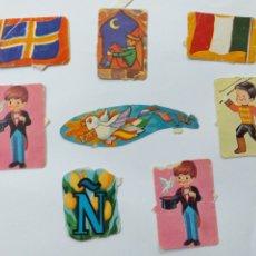 Collectionnisme Cartes à collectionner massicotées anciennes: LOTE 8 CROMOS TROQUELADOS ANTIGUOS. Lote 204713991