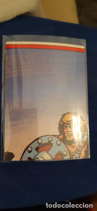 Coleccionismo Cromos troquelados antiguos: ADHESIVO TROQUELADO DOBLE ESCENA ACCION PUZZLE MOTU MASTERS UNIVERSO HE MAN E FACES MATTEL 1984 - Foto 2 - 205334741