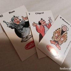 Coleccionismo Cromos troquelados antiguos: LOTE DE 3 CROMOS TOSTARICA CUETARA AURONES AÑOS 90 NO BIMBO, PANRICO. Lote 205466628