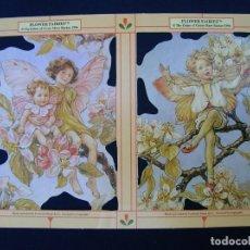 Coleccionismo Cromos troquelados antiguos: LAMINA CROMOS TROQUELADOS MLP- 1898.HADAS. ESCASA. Lote 206582968