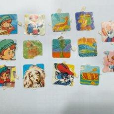 Collectionnisme Cartes à collectionner massicotées anciennes: LOTE 14 CROMOS TROQUELADOS. Lote 206798666