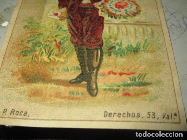Coleccionismo Cromos troquelados antiguos: antiguo cromo siglo XIX farmacia san antonio drogueria valencia mercado 70 hierro- calvo remedio - Foto 5 - 207996101