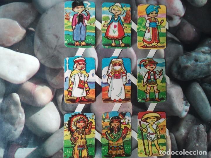 LOTE DE NUEVE CROMOS TROQUELADOS ANTIGUOS. CROMOS RETRO. TOTALMENTE NUEVOS. CLASICOS. (Coleccionismo - Cromos y Álbumes - Cromos Troquelados)