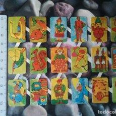 Coleccionismo Cromos troquelados antiguos: LAMINA COMPLETA DE ANTIGUOS CROMOS TROQUELADOS DE TEMÁTICA DIVERSA. LOTE DE CROMOS RETRO.. Lote 208963418
