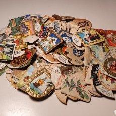 Coleccionismo Cromos troquelados antiguos: LOTE 85 CROMOS PEQUEÑOS, DE ESCUDOS, EMBLEMAS, ESCRITORES/ AÑOS 20-30/ ORIGINAL DE ÉPOCA/ (REF.B 2). Lote 210352417