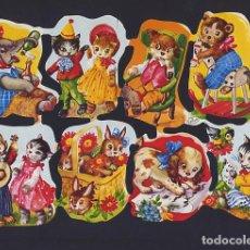 Coleccionismo Cromos troquelados antiguos: CROMOS TROQUELADOS - RARA Y BUSCADA LÁMINA ALEMANA KRÜGER 98/1. Lote 210352436