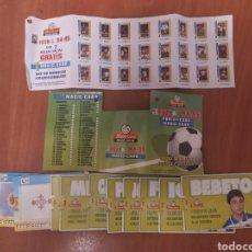 Coleccionismo Cromos troquelados antiguos: LOTE FICHAS Y PORTA FICHAS MAGIC CARD, MATUTANO. Lote 210769439