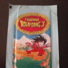 Coleccionismo Cromos troquelados antiguos: SOBRE CERRADO NUEVO BOLA DE DRAGON BALL DRAC AS BOLAS MAXICAS PETIT SUISSE DANONE GOKU. Lote 208922640