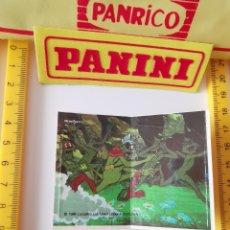Coleccionismo Cromos troquelados antiguos: CROMO PEGATINA SIN PEGAR STAR WARS PANRICO DROIDS PROMOSTAFF. Lote 217498766