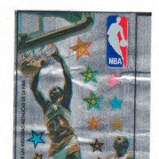 Coleccionismo Cromos troquelados antiguos: CHICLE NBA DOMINIQUE WILKINS JUGADORES JUGADAS CROMO PEGATINA. Lote 218936747