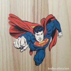 Coleccionismo Cromos troquelados antiguos: CROMO FIGURA TROQUELADO SUPERMAN REVERSIBLE 18 X 17 CM.. Lote 221698648