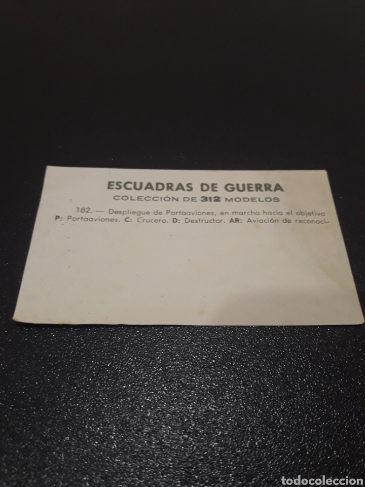 Coleccionismo Cromos troquelados antiguos: ESCUADRAS DE GUERRA N° 182. SIN PEGAR - Foto 2 - 222003558