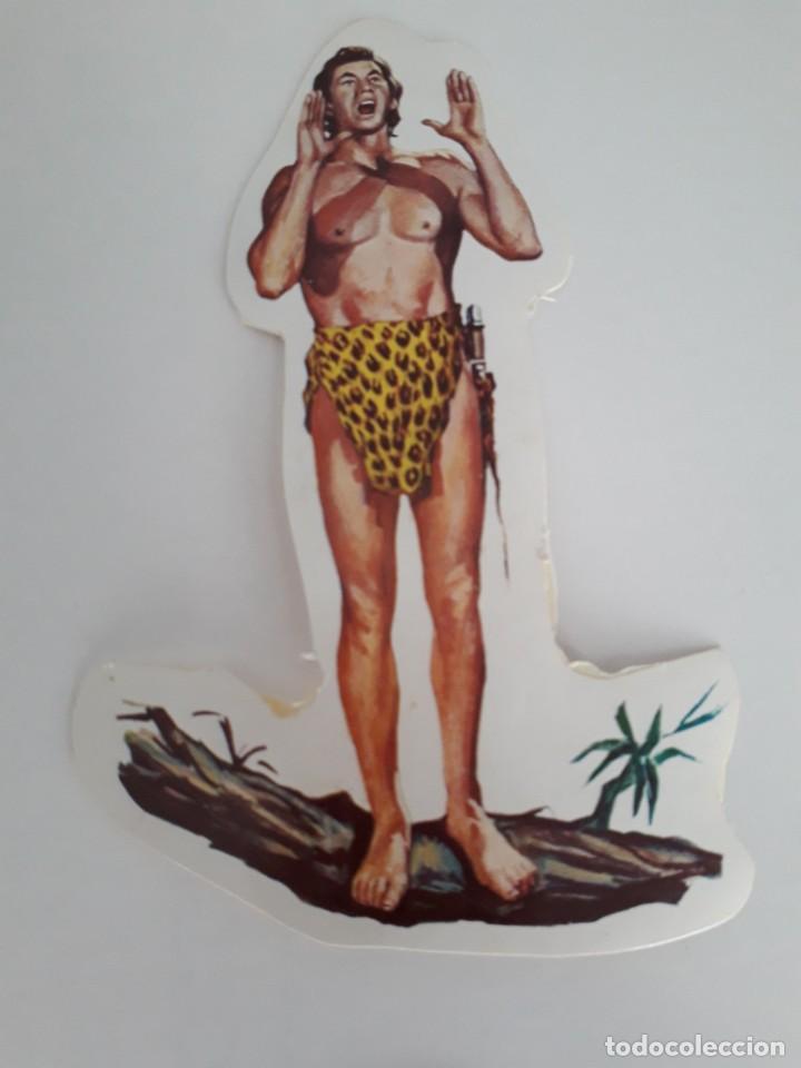 Coleccionismo Cromos troquelados antiguos: PEGATINA CROMOS TROQUELADOS ADHESIVOS BRUGUERA SEPARADOS DEL CUADRO - Foto 5 - 231831335