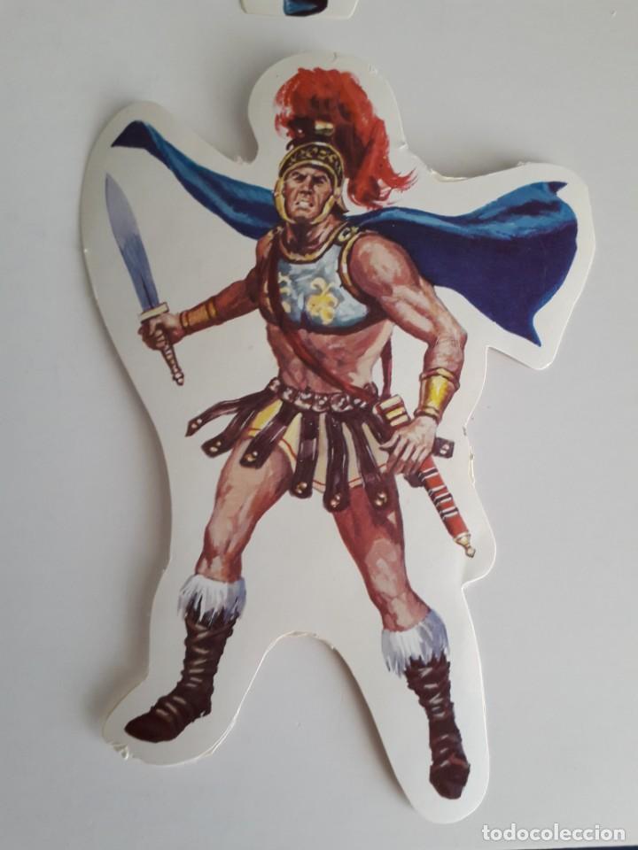 Coleccionismo Cromos troquelados antiguos: PEGATINA CROMOS TROQUELADOS ADHESIVOS BRUGUERA SEPARADOS DEL CUADRO - Foto 11 - 231831335