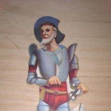 Coleccionismo Cromos troquelados antiguos: CROMO TROQUELADO QUIJOTE. Nº 22-23-24. CHOCOLATES EVARISTO JUNCOSA.. Lote 233489080