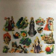Coleccionismo Cromos troquelados antiguos: SIMA 203, ANTIGUA LAMINA DE CROMOS TROQUELADOS. Lote 236394515
