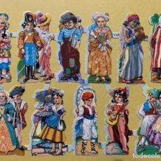 Coleccionismo Cromos troquelados antiguos: LAMINA CROMOS TROQUELADOS O PICAR EVA Nº152 BRILLO. Lote 237205520