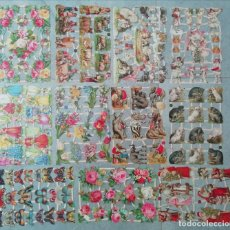 Coleccionismo Cromos troquelados antiguos: LAMINA CROMOS TROQUELADOS LOTE DE 11 LAMINAS EF ALEMANAS CON RELIEVE Y BRILLO ¡¡OFERTA¡¡. Lote 261990640