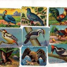 Coleccionismo Cromos troquelados antiguos: LOTE DE 10 CROMOS CHOCOLATES FINOS LA PRIMITIVA INDIANA. Nº 1-2-5-8-49-50-56-94-95-96. Lote 240220205