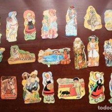 Coleccionismo Cromos troquelados antiguos: LOTE DE 20 CROMOS ORIGINALES ANTIGUOS DE LOS AÑOS 70. EVA Y F.B.. Lote 243865840