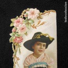 Coleccionismo Cromos troquelados antiguos: CROMO TROQUELADO-LA ESPAÑA FABRICA DE CHOCOLATES-VER FOTOS-(77.996). Lote 245454985