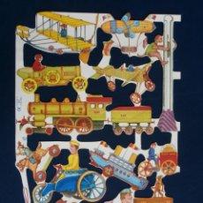 Coleccionismo Cromos troquelados antiguos: LAMINA CROMOS TROQUELADOS MLP- 1606.ESCASA. Lote 245721105
