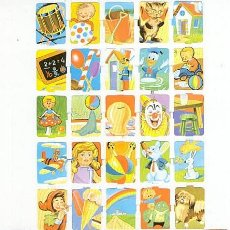 Coleccionismo Cromos troquelados antiguos: 2 LÁMINAS CROMOS TROQUELADOS (DIBUJOS INFANTILES) EDIVAS. Lote 246513040