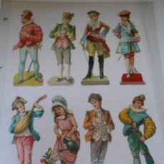 Coleccionismo Cromos troquelados antiguos: COLECCION SUPER LOTE 134 CROMOS TROQUELADOS PRINCIPIOS SIGLO XX CROMO ALBUM SIGLO CARDS. Lote 252953090