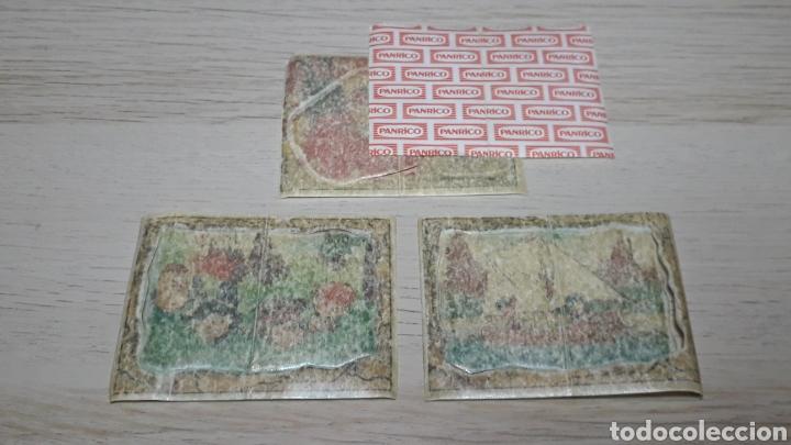 Coleccionismo Cromos troquelados antiguos: 3 x cromo *Picapiedra Flintstones*, promocionales premium Panrico Promostaff. Años 80. - Foto 2 - 254008885