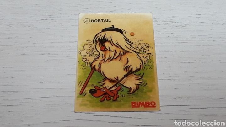 CROMO # 24 *BOBTAIL* TUS MEJORES AMIGOS, PROMOCIONAL PREMIUM BIMBO. AÑOS 80-90. (Coleccionismo - Cromos y Álbumes - Cromos Troquelados)