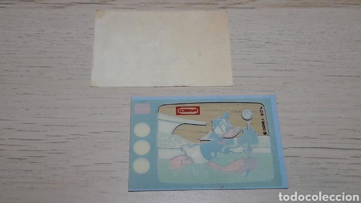 Coleccionismo Cromos troquelados antiguos: Cromo Donald * Televisión TV Disney* promocional premium Panrico. Años 70-80. - Foto 2 - 254014215