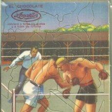 Coleccionismo Cromos troquelados antiguos: 4267.-CHOCOLATE AMATLLER-PUZLE-BOXEO-AÑOS 20 DEL SIGLO XX-DEPORTES-BOXEO. Lote 254767455