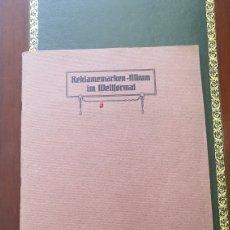 Coleccionismo Cromos troquelados antiguos: LOTE DE 3 ALBUMES DE CROMOS ALEMANES. Lote 272356578