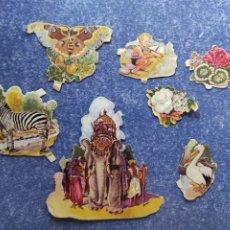 Coleccionismo Cromos troquelados antiguos: LOTE DE CROMOS TROQUELADOS DE EVA 124. Lote 276973568