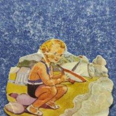 Coleccionismo Cromos troquelados antiguos: CROMO TROQUELADO EVA 124, LEE LA DESCRIPCIÓN.. Lote 276973798
