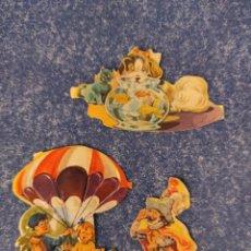 Coleccionismo Cromos troquelados antiguos: LOTE DE CROMOS TROQUELADOS DE EVA 132. Lote 277009613