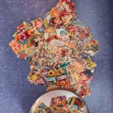 Coleccionismo Cromos troquelados antiguos: LOTE DE CROMOS TROQUELADOS TODOS DE EVA,. Lote 277138918