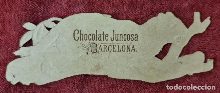Coleccionismo Cromos troquelados antiguos: COLECCION DE 117 CROMOS TROQUELADOS. CHOCOLATES JUNCOSA. SIGLO XIX-XX. - Foto 11 - 277587918