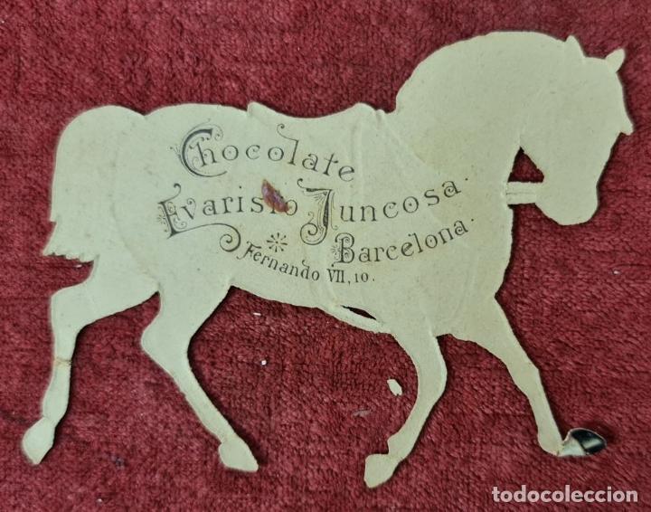 Coleccionismo Cromos troquelados antiguos: COLECCION DE 117 CROMOS TROQUELADOS. CHOCOLATES JUNCOSA. SIGLO XIX-XX. - Foto 13 - 277587918