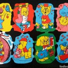 Coleccionismo Cromos troquelados antiguos: LÁMINA CROMOS TROQUELADOS ALEMANES KRUGER DE PICAR AÑOS 60/70 NUEVA DIBUJOS INFANTILES. Lote 277655783