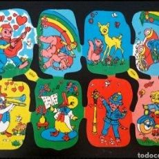 Coleccionismo Cromos troquelados antiguos: LÁMINA CROMOS TROQUELADOS ALEMANES KRUGER DE PICAR AÑOS 60/70 NUEVA DIBUJOS INFANTILES. Lote 277656228