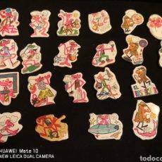 Coleccionismo Cromos troquelados antiguos: 21 CROMO PEGATINA TROQUELADOS LA PANTERA ROSA DE MATUTANO. Lote 283764148