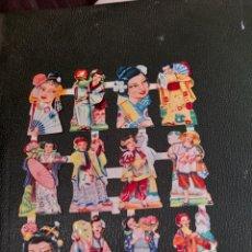 Coleccionismo Cromos troquelados antiguos: 12 ANTIGUOS CROMOS TROQUELADOS DE GEHISAS. Lote 288190243