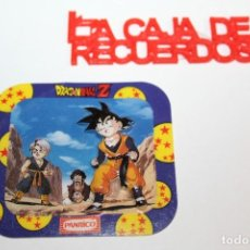 Coleccionismo Cromos troquelados antiguos: PANRICO CROMO TROQUELADO DRAGONBALL Z - Nº1 BIPLANO. Lote 289627303