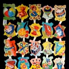 Coleccionismo Cromos troquelados antiguos: CROMOS TROQUELADOS FHER FB 262 RELIEVE ESCASA LÁMINA ORIGINAL ANTIGUA PICAR AÑOS 50/60 NUEVA F. B.. Lote 294497528